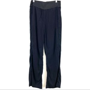 James Perse 1 Womens Black Staight Leg pants